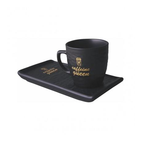 SP-Menekşe Seramik Kahve Seti